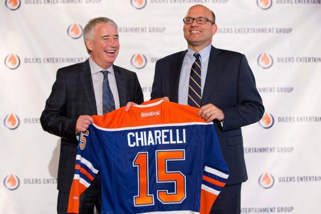 Bob Nicholson, président et directeur général du Oilers... (La Presse Canadienne, Jason Franson)