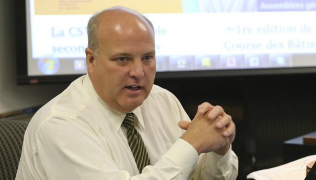 André Messier, directeur général de la commission scolaire... (Photo archives La Voix de L'Est)
