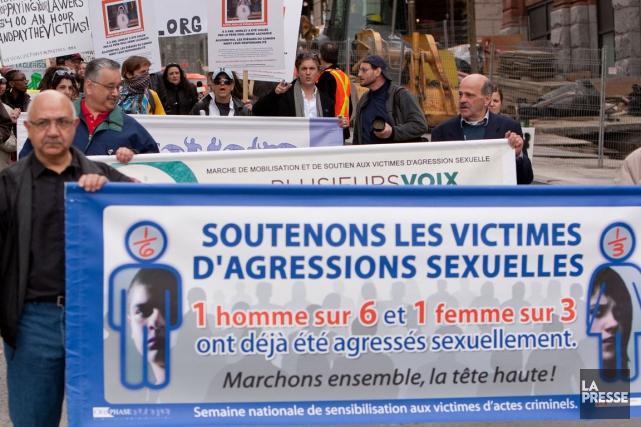 Plusieurs organismes qui viennent en aide aux victimes d'agressions sexuelles... (Photo Hugo-Sébastien Aubert, archives La Presse)