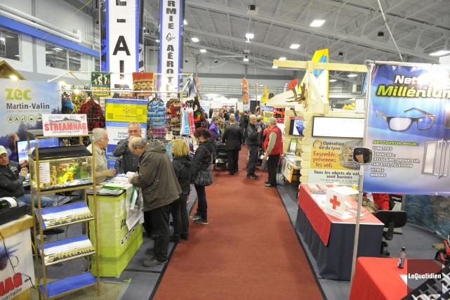 Le Salon Expo nature Lac-Saint-Jean a ouvert ses... ((Photo Le Quotidien, Gimmy Desbiens))