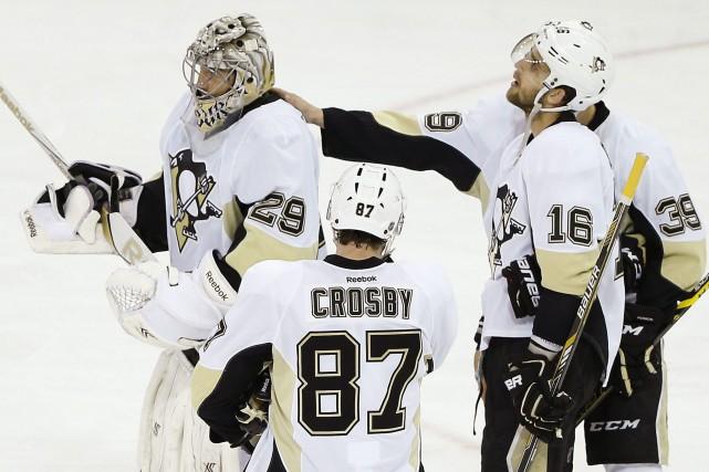 Les Penguins de Pittsburgh ont franchi l'automne avec... (Photo Julie Jacobson, AP)