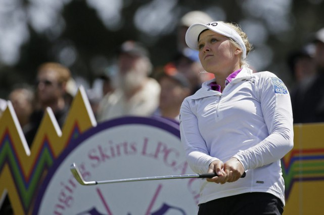 Brooke Henderson... (Photo Eric Risberg, AP)