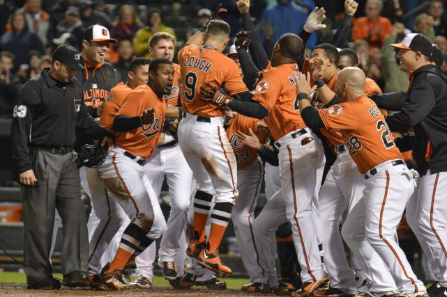 Les Orioles de Baltimore ont battu les Red... (Photo Tommy Gilligan-USA TODAY Sports)