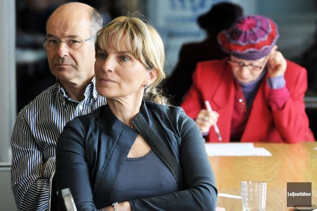 La conseillère désignée de l'ERD, Josée Néron, croit... ((Photo Le Quotidien-Rocket Lavoie))