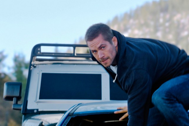 Paul Walker dans Fast & Furious 7.... (fournie par Universal Pictures)
