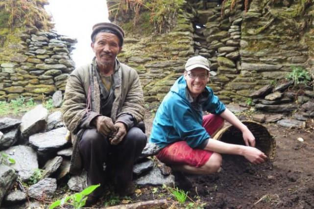L'Almatois Étienne Landry-Désy est au Népal depuis un... ((Courtoisie))