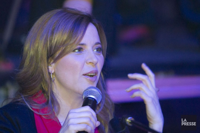 Julie Snyder, la fondatrice de Productions J.... (Photo: Hugo-Sébastien Aubert, archives La Presse)