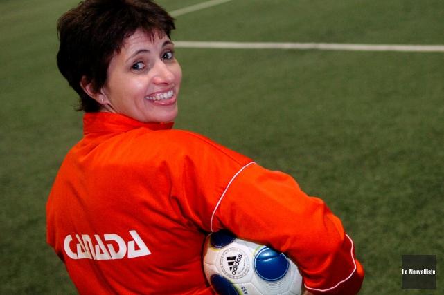 Défenseure de l'équipe canadienne pendant près de dix... (Photo: François Gervais Le Nouvelliste)