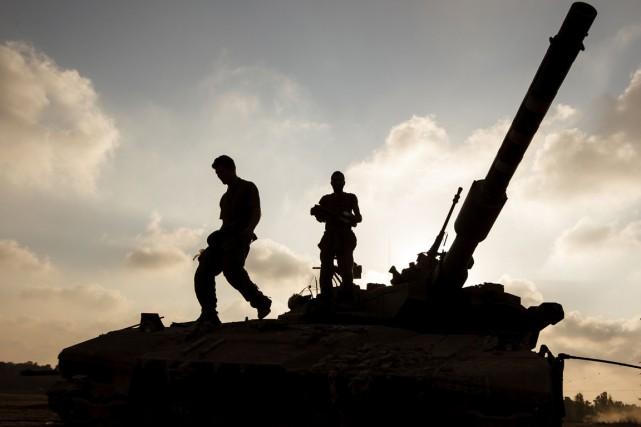 Pour les Palestiniens, Israël s'est rendu coupable de... (PHOTO JACK GUEZ, ARCHIVES AFP)