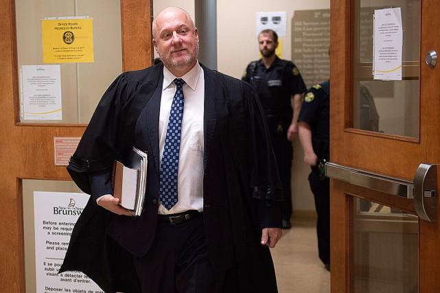 L'avocat Leslie Matchim représente Jean-Claude Savoie.... (Photo Andrew Vaughan, La Presse Canadienne)