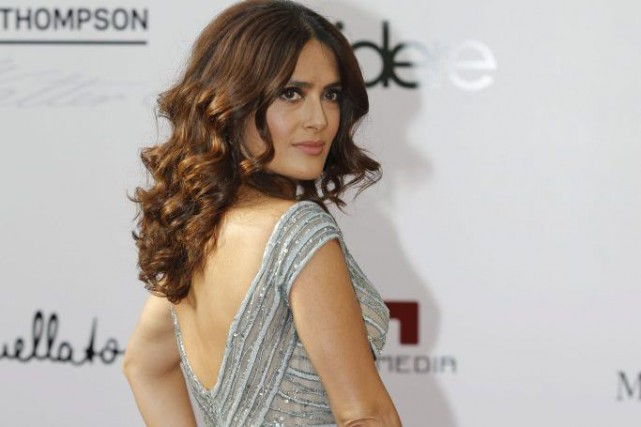 Salma Hayek à la projection du film Le prophète... (Photo: Reuters)