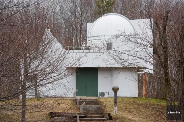 L'Observatoire astronomique du Cégep de Trois-Rivières à Champlain... (Photo: François Gervais Le Nouvelliste)