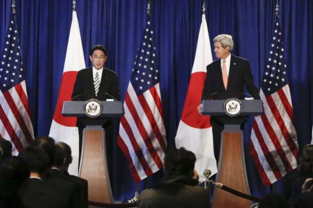Les États-Unis et le Japon ont approuvé lundi un nouveau renforcement de leur... (Photo AFP)