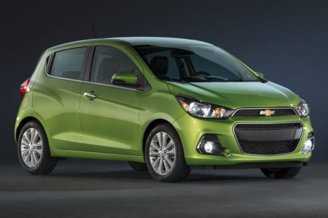 La Chevrolet Spark 2016 (version à essence).... (PHOTO FOURNIE PAR GM)
