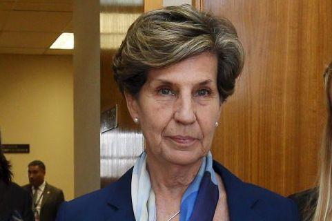 Mme Allende avait déjà marqué les esprits le... (Photo Reuters)