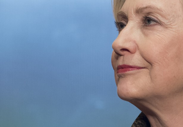 Hillary Clinton... (Photo SAUL LOEB, Agence France-Presse)