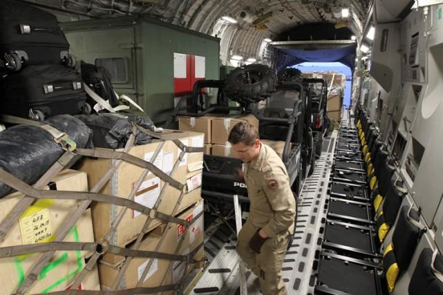 L'appareil C-17 qui est actuellement en route vers... (Photo: PC)
