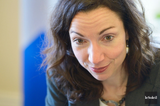 Martine Ouellet n'est pas en politique pour y... (Le Soleil, Yan Doublet)