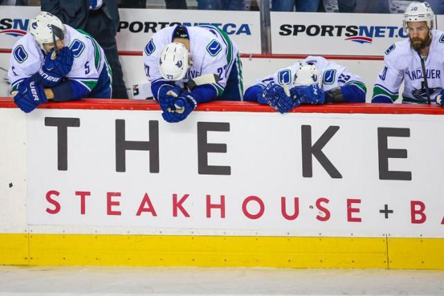 Les Canucks de Vancouver ont été témoins de ce qu'une bonne cure de jouvence... (Photo: Reuters)