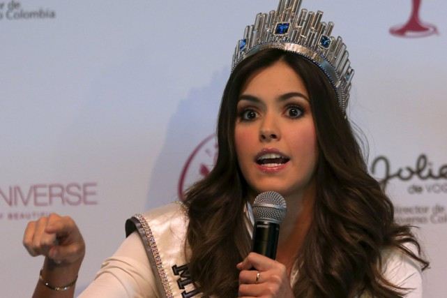 Paulina Vega... (Photo: AFP)