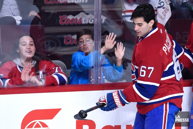Max Pacioretty n'a pas encore été la menace... (Photo Bernard Brault, La Presse)