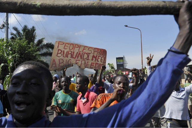 La désignation samedi par le parti présidentiel Cndd-FDD... (PHOTO SIMON MAINA, AFP)