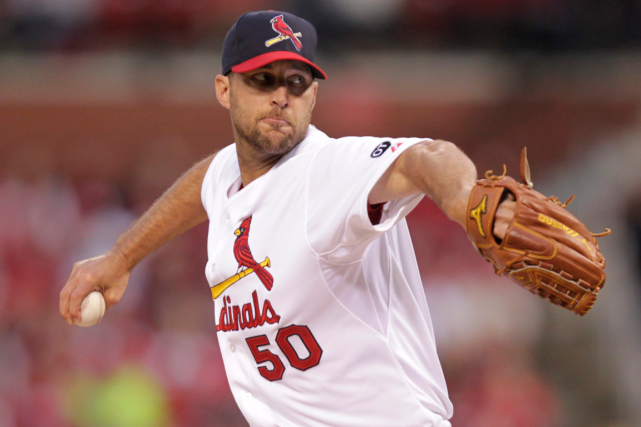 Adam Wainwright... (Photo Tom Gannam, AP)