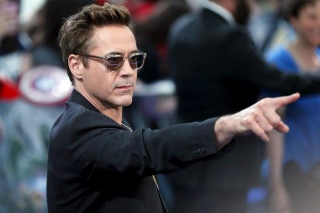 Robert Downey Jr. à la première européenne de... (Photo archives Reuters)