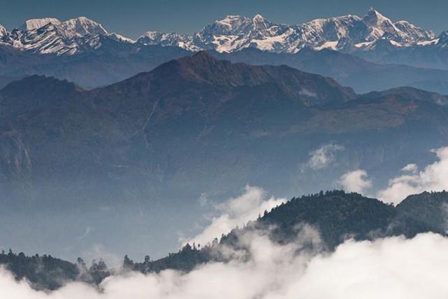 L'avalanche est survenue dans une zone oùse situe... (PHOTO DMITRY SUMIN, FLICKER/TWITER)