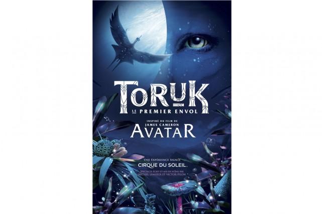 La première mondiale du nouveau spectacle du Cirque du Soleil, TORUK, le... (Photo: image par le Cirque du Soleil)