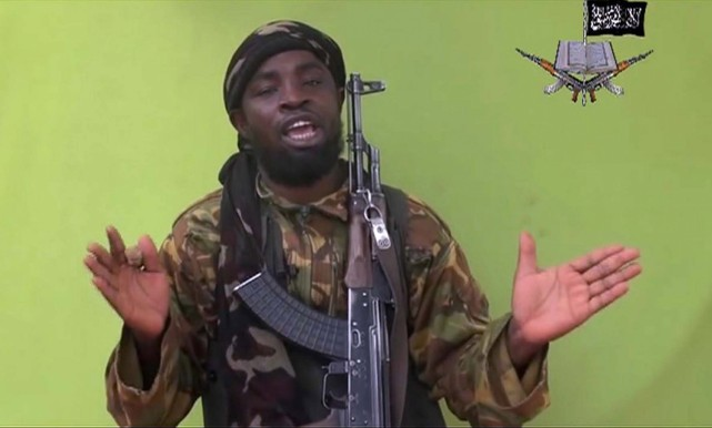 Le leader de Boko Haram, Abubakar Shekau... (PHOTO ARCHIVES AP)