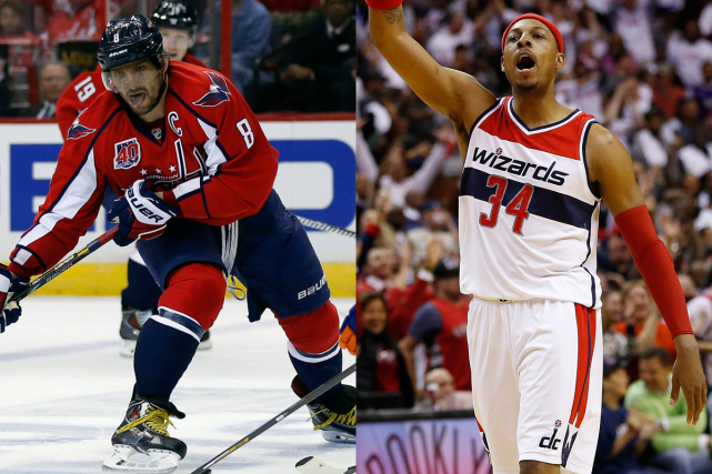 Alexander Ovechkin, des Capitals de Washington, et Paul... (Photos AP et USA Today)