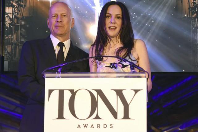 Bruce Willis et Mary-Louise Parker ont annoncé les... (Photo: AFP)