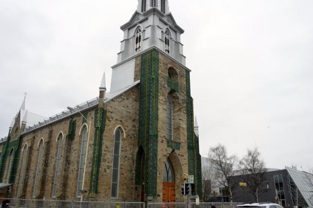 La cathédrale de Rimouski requiert des réparations de... (Collaboration spéciale Johanne Fournier)