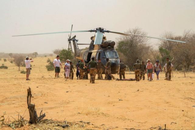 La France, présente militairement au Mali, a appelé... (PHOTO Catherine PIAULT, AFP)