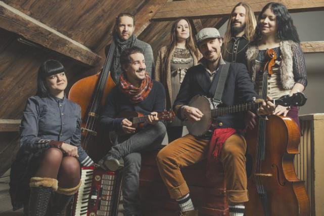 Le deuxième album de Bears of Legend a... (Photo: Étienne Boisvert, fournie par le groupe)