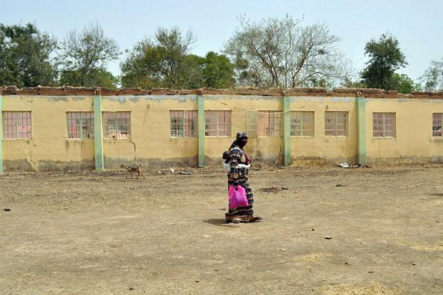 La mère d'une jeune fille kidnappée à Chibok,... (PHOTO AFP)