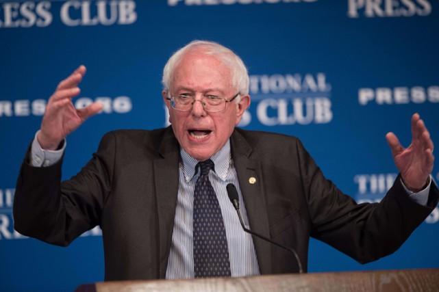 Bernie Sanders a été élu en 1990 à... (Photo: AFP)