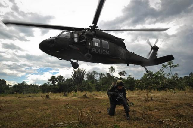Mêlant l'armée à des guérillas communistes, des milices... (Archives AFP)