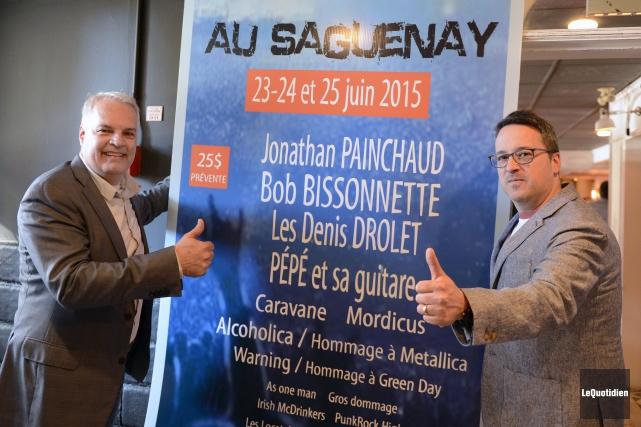 Christian Jomphe qui organise cet événement avec son... ((Photo Le Quotidien, Jeannot Lévesque))