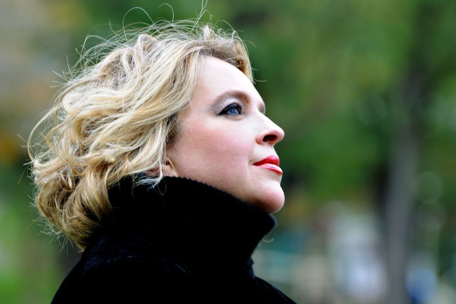 La sopranoKarina Gauvin... (Photo Michael Slobodian)