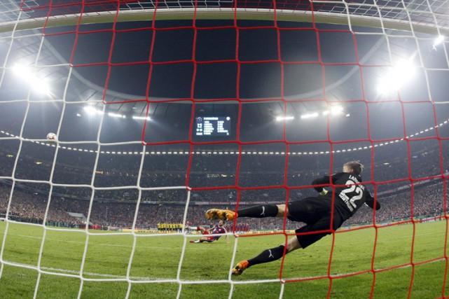 Dortmund, bien que réduit à dix en prolongation, a éliminé le Bayern Munich en... (Photo: AP)