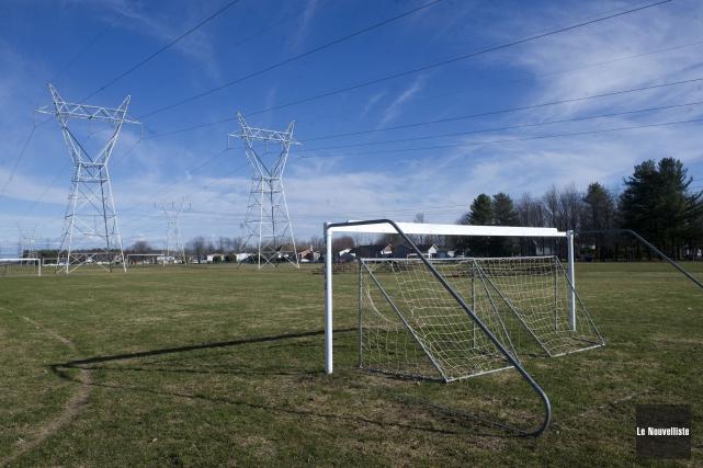 Les terrains de soccer du parc Isabeau de... (Photo: Stéphane Lessard Le Nouvelliste)