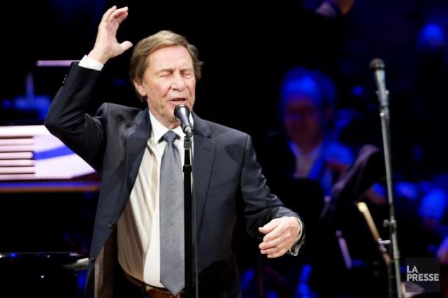 Jean-Pierre Ferland fêtait ses 80 ans en grand,... (Photo: Olivier Jean, La Presse)