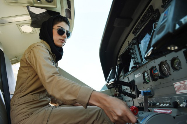 Sur la base aérienne des forces afghanes à... (PHOTO SHAH MARAI, AFP)