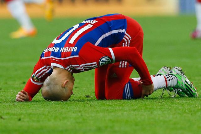 Arjen Robben... (Photo Matthias Schrader, AP)