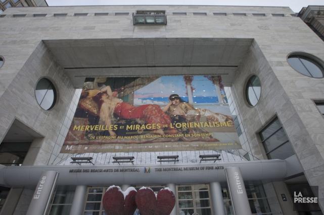 Le Musée des beaux-arts de Montréal a été le musée d'art le plus fréquenté au... (Photo: Ivanoh Demers, La Presse)