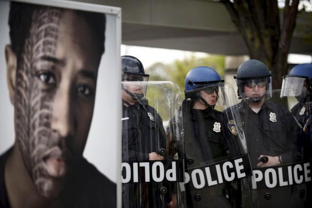 Baltimore a été touchée par des violences qui... (PHOTO SAIT SERKAN GURBUZ, ARCHIVES REUTERS)