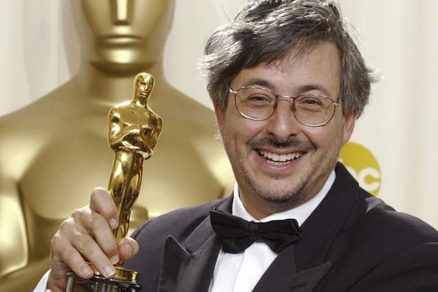 Andrew Lesnie lors de l'obtention de son Oscar... (Photo: archives AP)