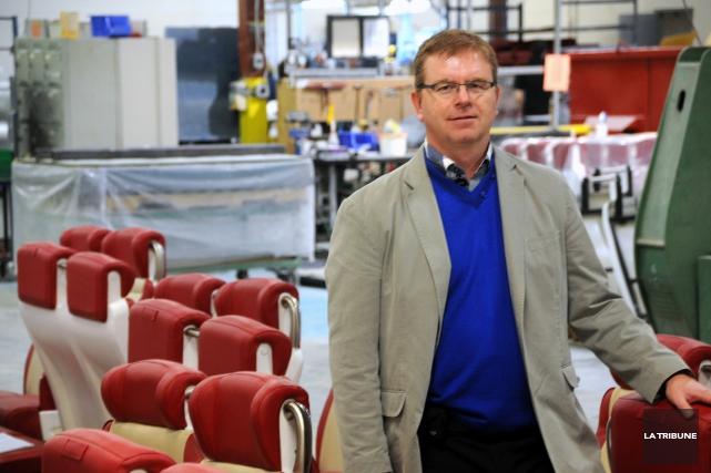 Martin Dufour a annoncé l'achat de Khrome et... (La Tribune, Yanick Poisson)